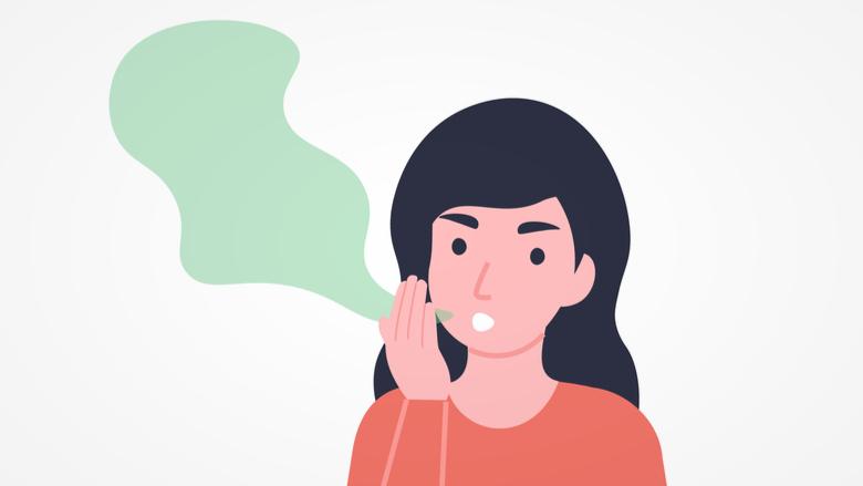 La ricerca associa la parodontite e l'alitosi
